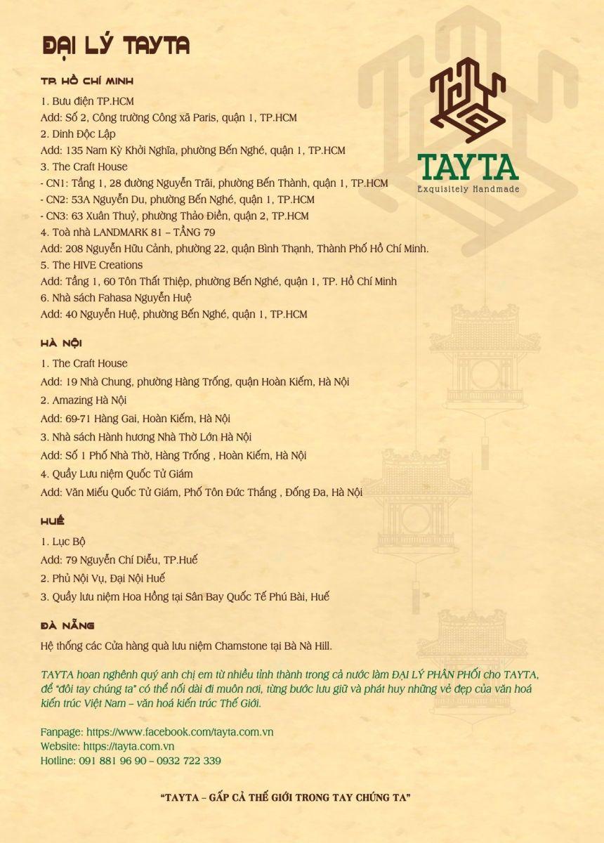 Mua thiệp 3D tại các đại lý uy tín của Tayta trên toàn quốc
