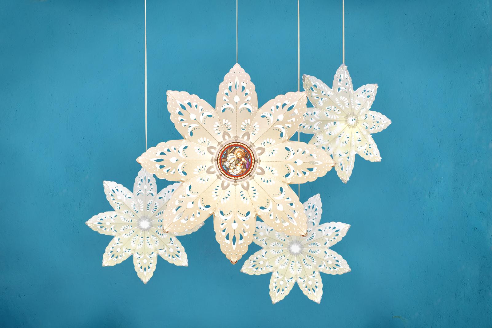 combo lồng đèn 3d trang trí giáng sinh siêu rẻ siêu đẹp