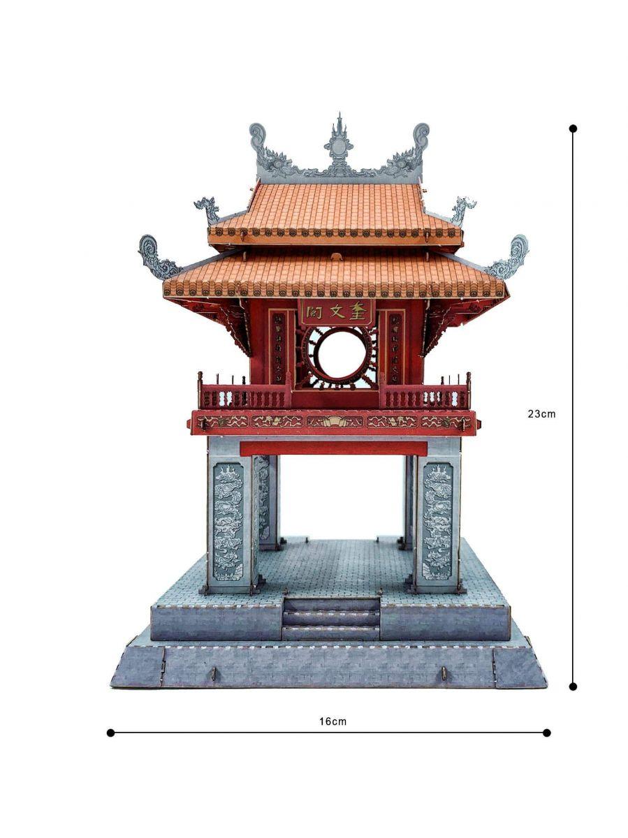 Khuê Văn Các được chọn làm biểu tượng của Thủ Đô Hà Nội