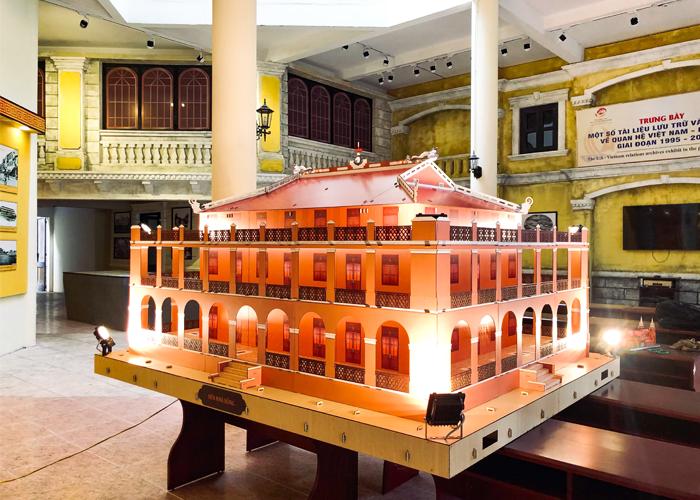 Mô hình Bến Nhà Rồng khổng lồ tại Sài Gòn