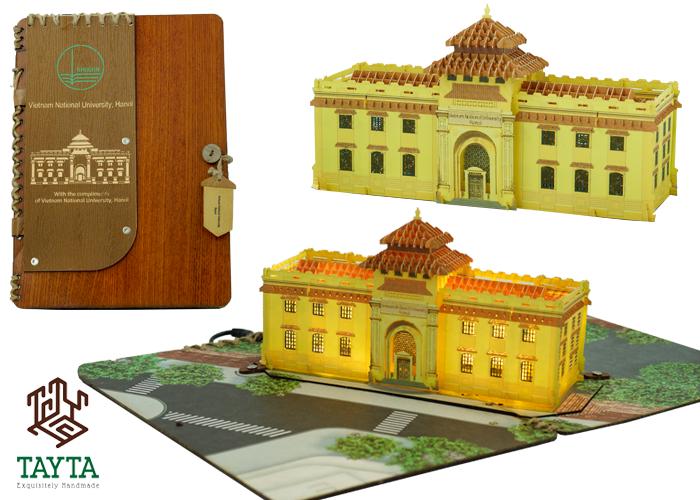 Thiết kế thiệp 3D Đại Học Đông Dương